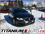 2007 Volkswagen Passat AS-IS ONLY + 2.0T+Heated Leather Seats+DVD+Sunroof in London, Ontario