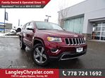 2016 Jeep Grand Cherokee Limited ACCIDENT FREE w/ LEATHER & REAR-VIEW CAMERA in Surrey, British Columbia