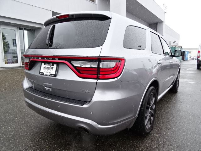 2016 dodge durango r t accident free w awd navigation surrey british columbia used car for. Black Bedroom Furniture Sets. Home Design Ideas