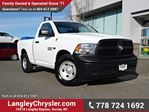 2014 Dodge RAM 1500 ST ACCIDENT FREE w/ TOW PACKAGE in Surrey, British Columbia
