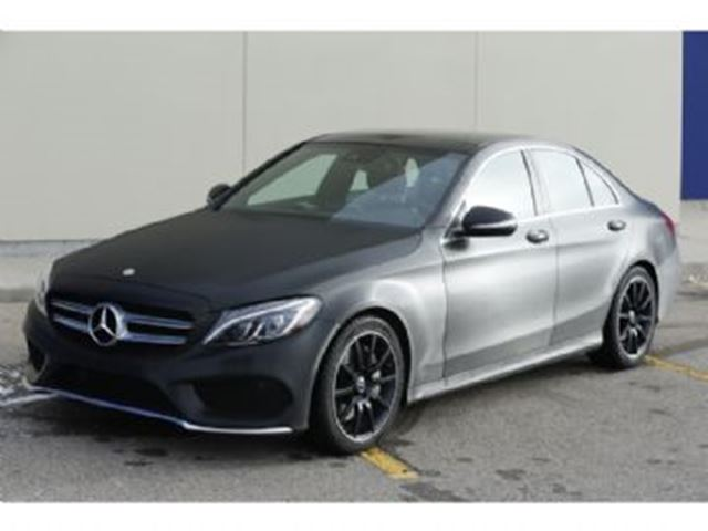 2015 mercedes benz c class 4dr sdn c400 4matic wrapped for Mercedes benz c400 price
