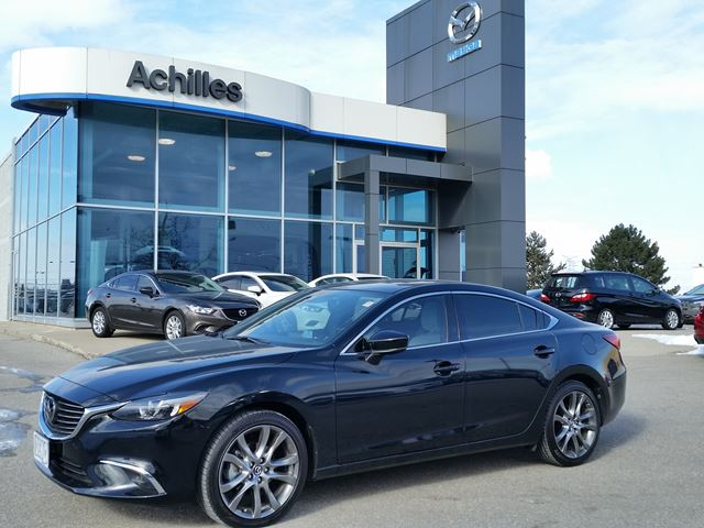 2017 mazda mazda6 demo gt tech pkg premium pkg milton ontario used car for sale 2695320. Black Bedroom Furniture Sets. Home Design Ideas