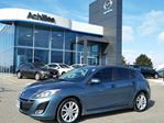 2011 Mazda MAZDA3 Sport GT, Leather, Moonroof, in Milton, Ontario