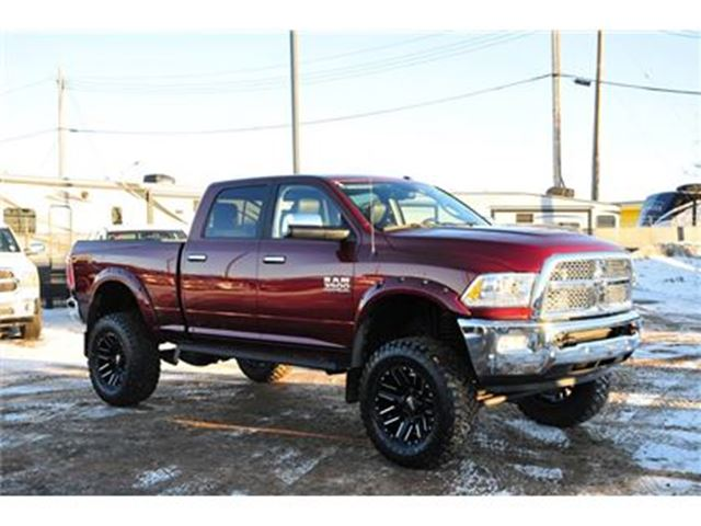 2017 dodge ram 3500 laramie custom lifted diesel like new edmonton alberta used car for sale. Black Bedroom Furniture Sets. Home Design Ideas