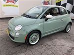 2014 Fiat 500 Lounge, Manual, Sunroof, Heated Seats, Only 7,000k in Burlington, Ontario