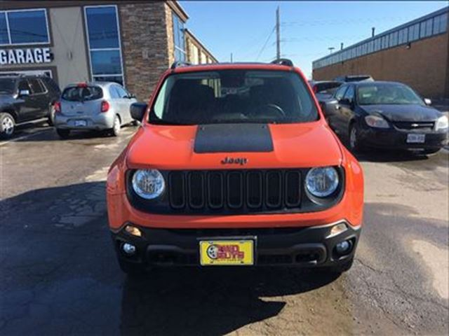 2016 jeep renegade trailhawk 4x4 navigation double moon roof st catharines ontario used car. Black Bedroom Furniture Sets. Home Design Ideas