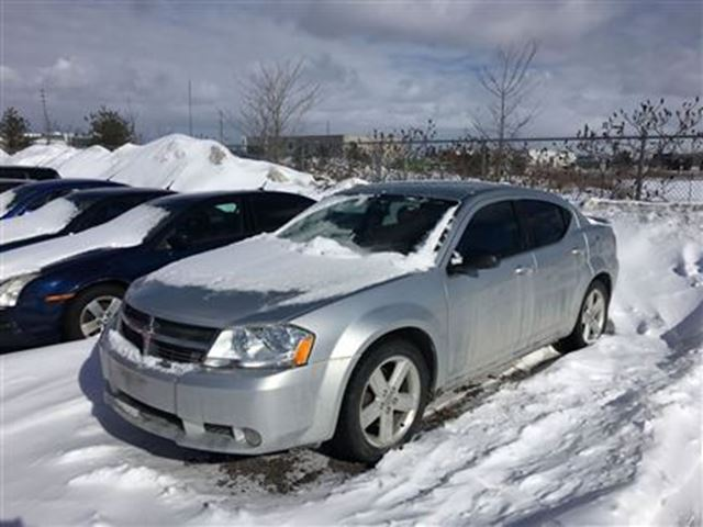 2008 dodge avenger sxt v6 fwd 4 door barrie ontario used car for. Cars Review. Best American Auto & Cars Review