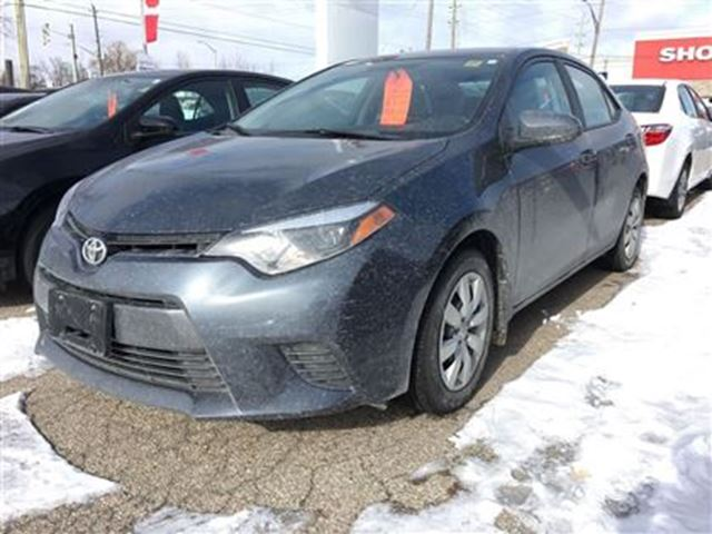 2015 toyota corolla le georgetown ontario used car for sale 2697287. Black Bedroom Furniture Sets. Home Design Ideas