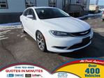 2016 Chrysler 200 NAV   ONE OWNER   ACCIDENT FREE   MOONROOF in London, Ontario
