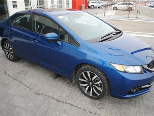 2015 HONDA Civic Touring *Local, 3M, One Owner* in Airdrie, Alberta