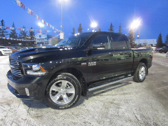2017 dodge ram 1500 sport fully loaded crewcab 4x4 calgary alberta used car for sale 2696450. Black Bedroom Furniture Sets. Home Design Ideas