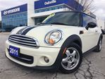 2011 MINI Cooper 1.6L  ALLOYS  BLUETOOTH  ONE OWNER in Oakville, Ontario