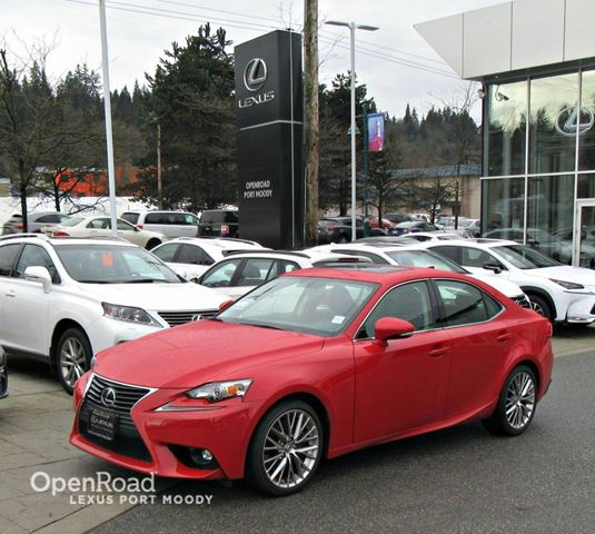 2016 lexus is 300 premium package awd red openroad lexus port moody. Black Bedroom Furniture Sets. Home Design Ideas