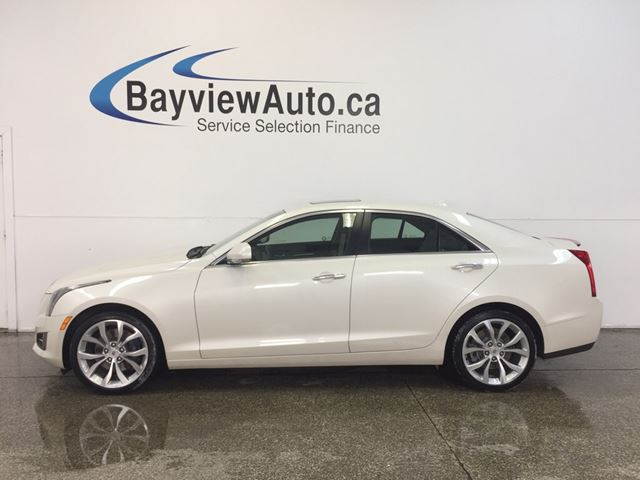 2013 CADILLAC ATS LUXURY- 3.6L! AWD! SUNROOF! LEATHER! BOSE SOUND! in Belleville, Ontario