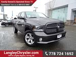 2014 Dodge RAM 1500 Sport ACCIDENT FREE w/ REAR-VIEW CAMERA & TOW PACKAGE in Surrey, British Columbia