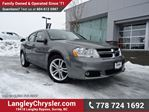 2013 Dodge Avenger SXT ACCIDENT FREE w/ HEATED FRONT SEATS in Surrey, British Columbia