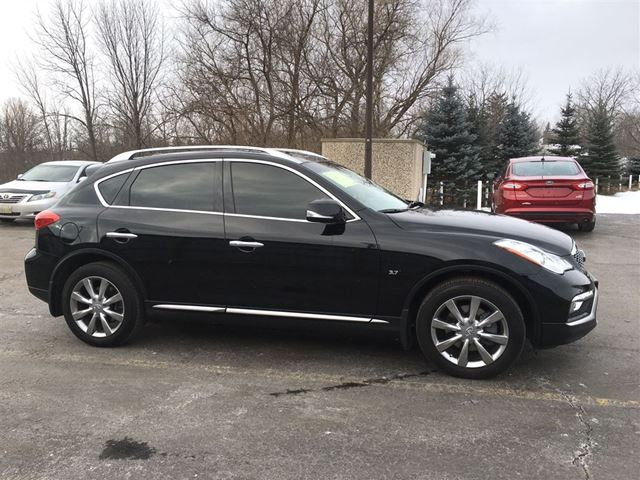 2016 infiniti qx50 cayuga ontario used car for sale 2696983. Black Bedroom Furniture Sets. Home Design Ideas