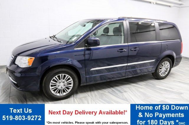 2016 chrysler town and country touring l leather 85 wk zero down dual dvd rear camera. Black Bedroom Furniture Sets. Home Design Ideas