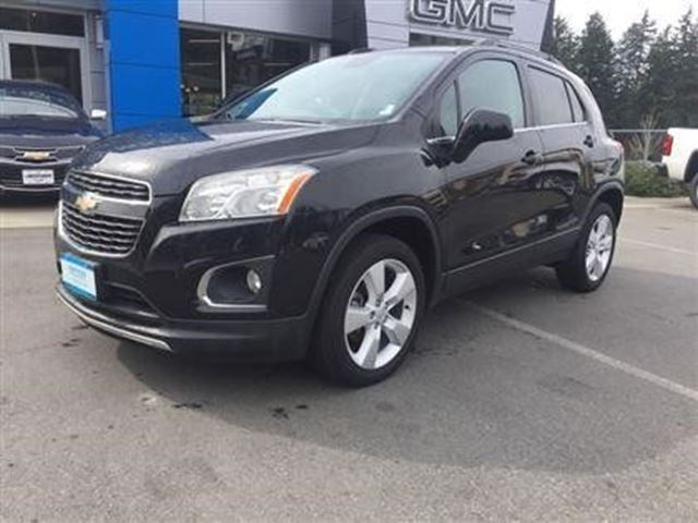 2013 Chevrolet Trax LTZ in Victoria, British Columbia