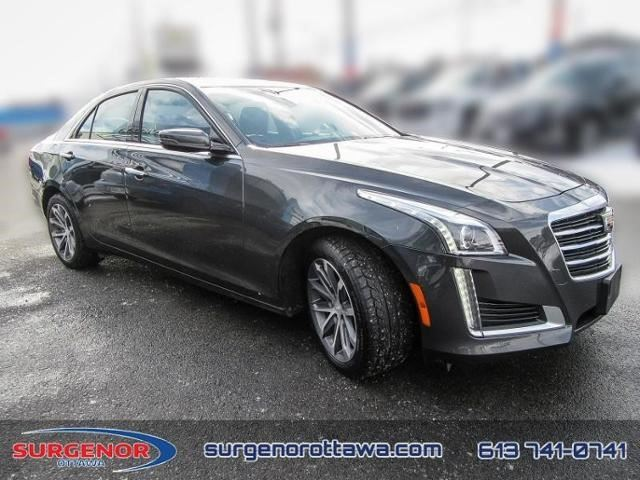 2016 cadillac cts luxury awd ottawa ontario used car for sale 2696370. Black Bedroom Furniture Sets. Home Design Ideas