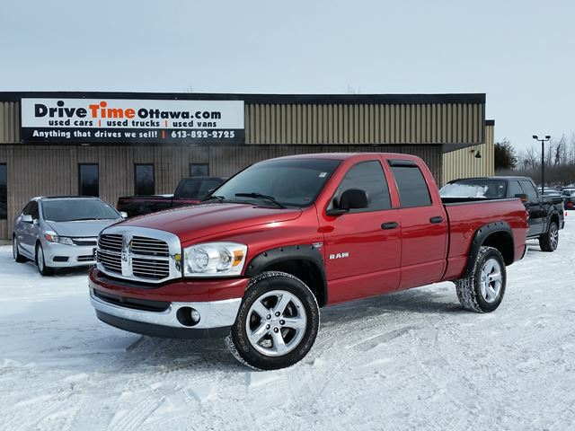 2008 dodge ram 1500 slt quad cab 4x4 ottawa ontario used car for. Cars Review. Best American Auto & Cars Review