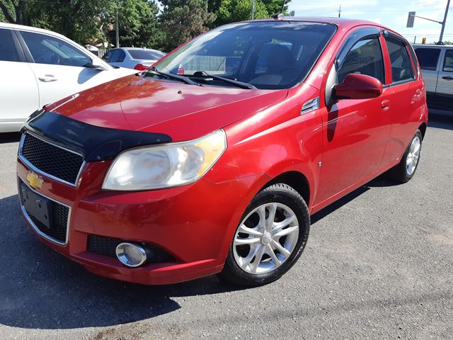 2009 chevrolet aveo lt red bridgeview motors. Black Bedroom Furniture Sets. Home Design Ideas