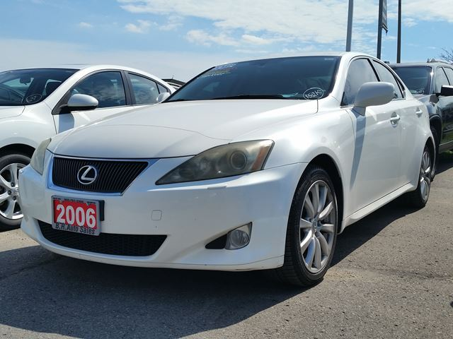 2006 lexus is 250 white br auto sales. Black Bedroom Furniture Sets. Home Design Ideas