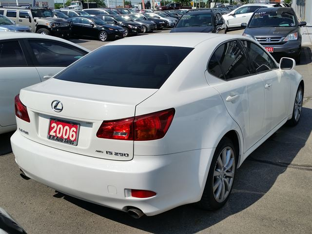 2006 lexus is 250 brampton ontario used car for sale. Black Bedroom Furniture Sets. Home Design Ideas