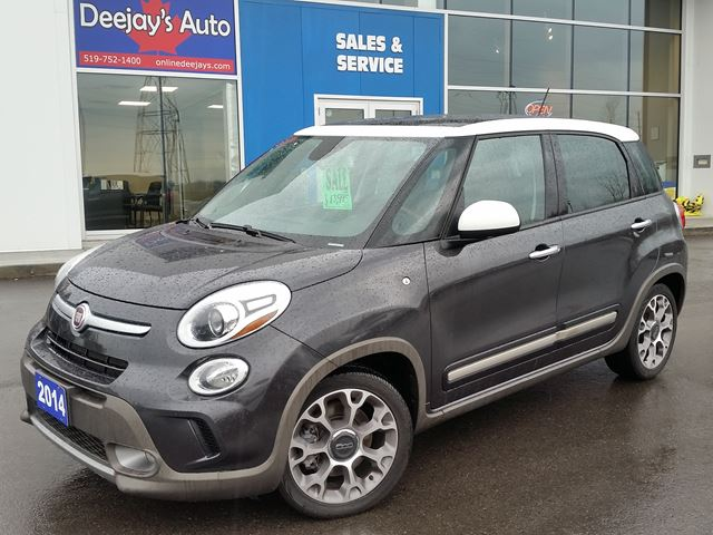 2014 fiat 500l trekking dark grey deejays auto sales. Black Bedroom Furniture Sets. Home Design Ideas