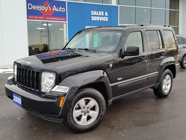 2009 jeep liberty north 4x4 brantford ontario used car. Black Bedroom Furniture Sets. Home Design Ideas