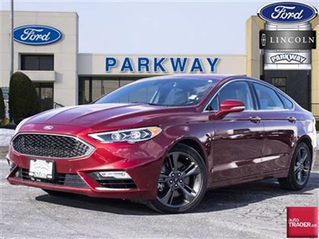2017 ford fusion sport demo leather navigation sunroof. Black Bedroom Furniture Sets. Home Design Ideas