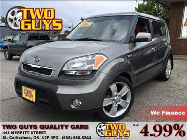 2011 KIA SOUL 2.0 4u SPORT STK AWESOME INTERIOR in St Catharines, Ontario