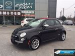 2012 Fiat 500 LOUNGE / CABRIO / LEATHER / BOSE!!! in Toronto, Ontario