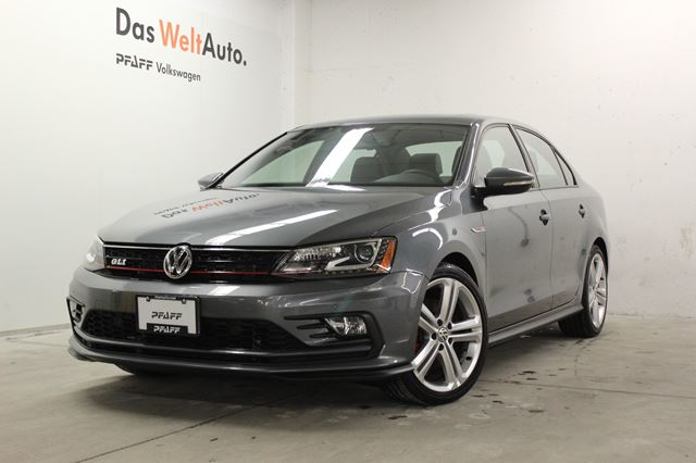 2016 volkswagen jetta gli autobahn 4dr 2 0 tsi dsg gli autobahn newmarket ontario used car. Black Bedroom Furniture Sets. Home Design Ideas