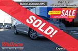 2012 Buick LaCrosse CXL/ULTRA-LUXURY AWD/SAFETY PKG/ROOF/LEATHER in Milton, Ontario