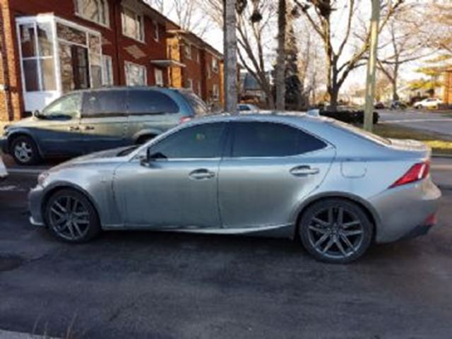 2015 lexus is 250 awd f sport grey lease busters. Black Bedroom Furniture Sets. Home Design Ideas