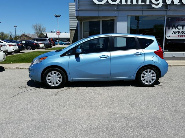 2014 nissan versa sv 1 owner collingwood ontario car. Black Bedroom Furniture Sets. Home Design Ideas