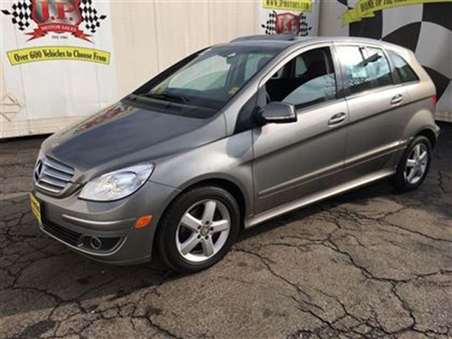 2008 mercedes benz b class b200 automatic sunroof heated seats only 73 00 burlington. Black Bedroom Furniture Sets. Home Design Ideas