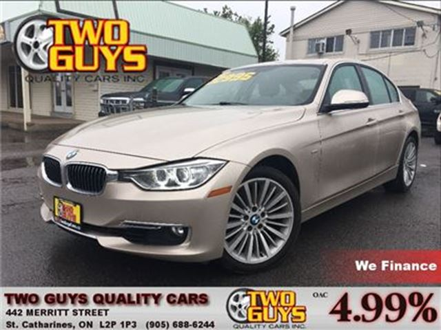 2013 BMW 3 SERIES 328 i i xDrive AWD LEATHER SUN ROOF SADDLE BROWN LEATHER in St Catharines, Ontario