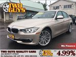 2013 BMW 3 Series 328 i i xDrive AWD LEATHER SUN ROOF ONE OWNER in St Catharines, Ontario