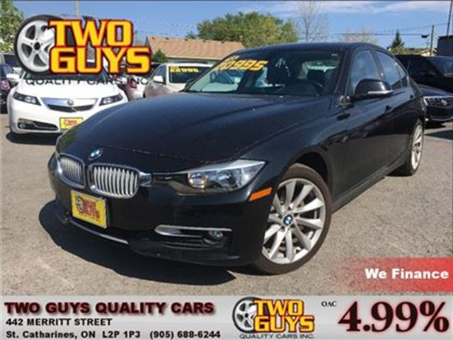 2013 BMW 3 SERIES xDrive AWD LEATHER SUNROOF ALLOYS in St Catharines, Ontario