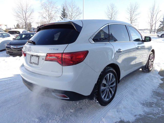 2016 acura mdx technology package red deer alberta used car for sale 2698916. Black Bedroom Furniture Sets. Home Design Ideas