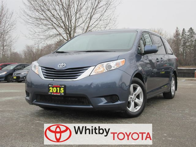 2015 toyota sienna le 8 passenger whitby ontario used. Black Bedroom Furniture Sets. Home Design Ideas