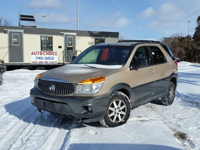 2003 buick rendezvous cx awd ottawa ontario used car. Black Bedroom Furniture Sets. Home Design Ideas