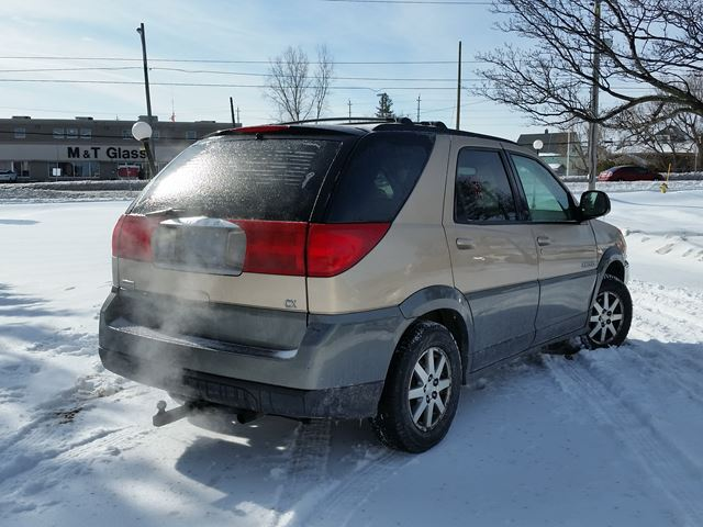 2003 buick rendezvous cx awd ottawa ontario used car for sale 2698669. Black Bedroom Furniture Sets. Home Design Ideas