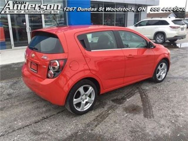 2016 chevrolet sonic lt woodstock ontario used car for. Black Bedroom Furniture Sets. Home Design Ideas