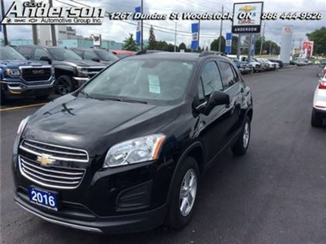 2016 CHEVROLET Trax LT  -  Bluetooth - Low Mileage in Woodstock, Ontario
