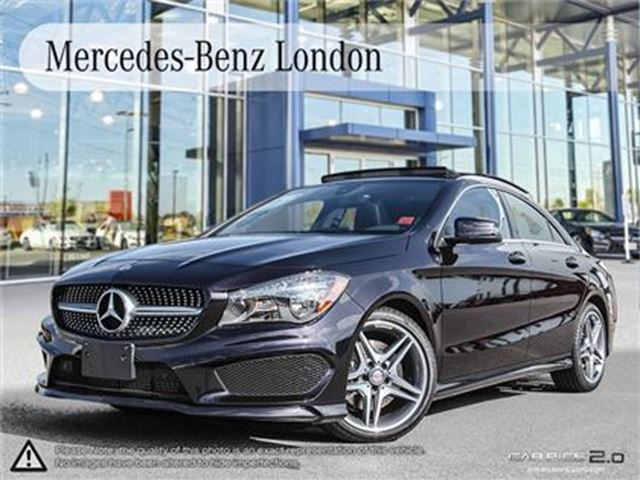 2016 mercedes benz cla250 4matic coupe london ontario car for sale 2699863. Black Bedroom Furniture Sets. Home Design Ideas