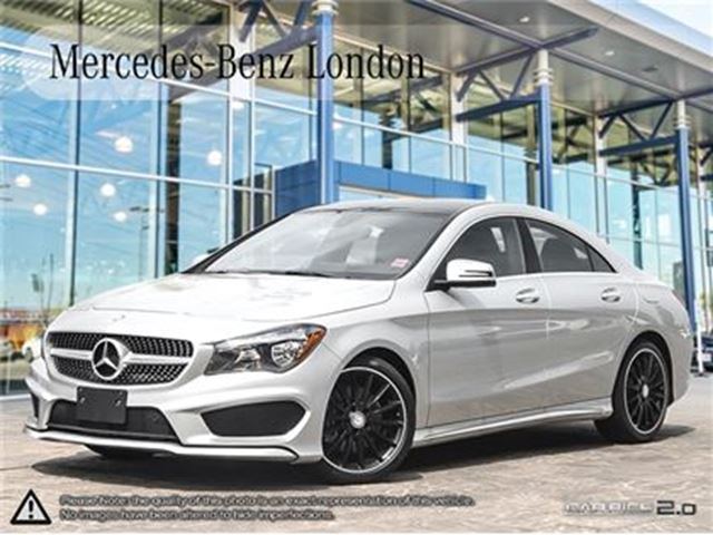 2016 mercedes benz cla250 4matic coupe london ontario for Mercedes benz cla250 used
