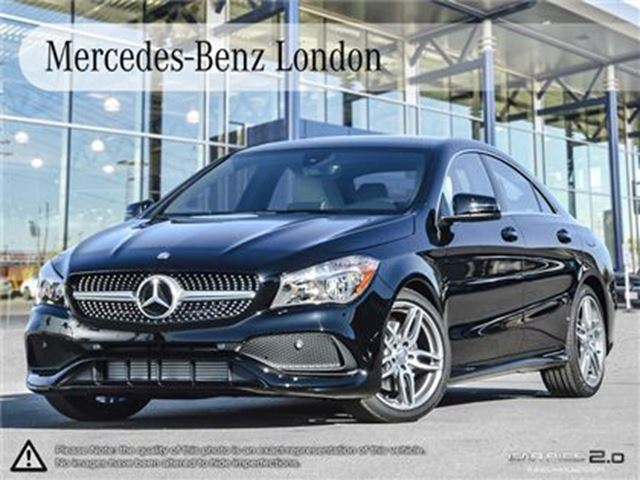 2017 mercedes benz cla250 4matic coupe london ontario for Mercedes benz cla250 used